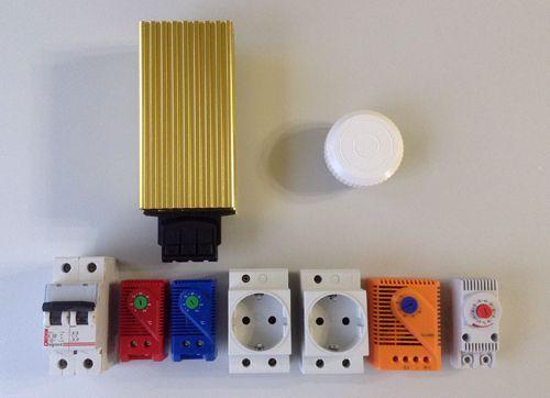Комплектация термошкафа серии НТГ