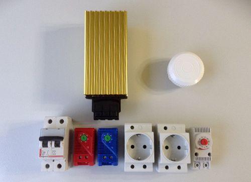 Комплектация термошкафа серии НТ