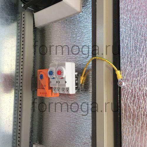 Термошкаф ТШ-2-НТГВ-800х600х300 с вентиляцией термостаты