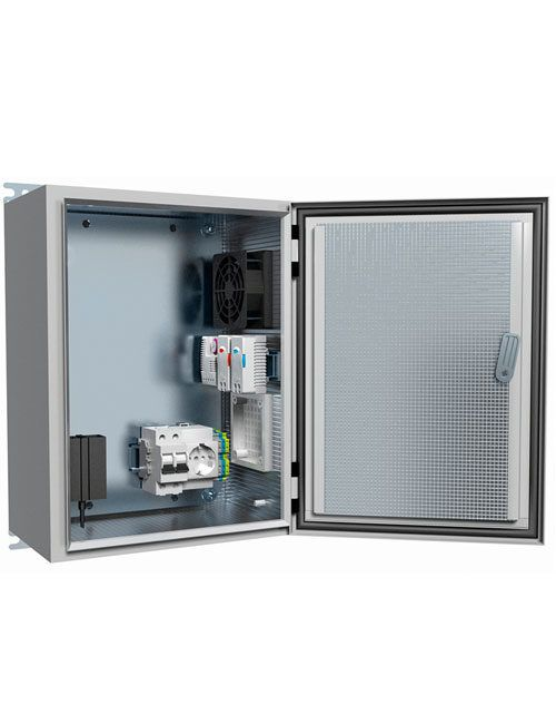 Термошкаф ТШ-5-НТГВ с вентиляцией