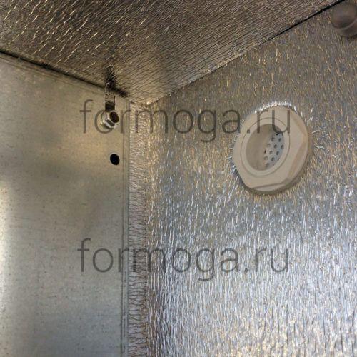 Шкаф монтажный с обогревом ТШ-2-Н 800х600х300 клапан