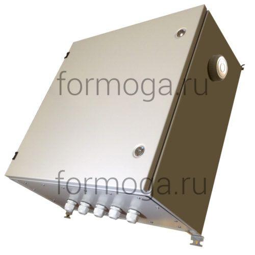 Шкаф монтажный с обогревом ТШ-3-Н-600х600х300 снаружи