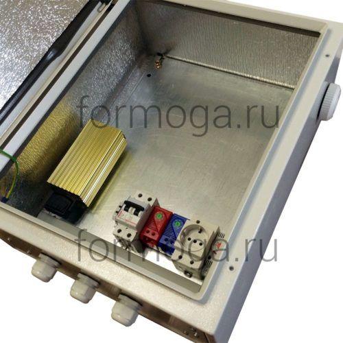 Климатический шкаф для оборудования ТШ-5-НТ 500х400х200 сбоку
