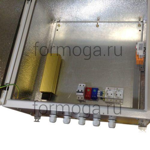 Шкаф металлический уличный ТШ-3-НТГ-600х600х300 снизу